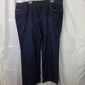 Talbots Woman sz 22W Dark Jeans